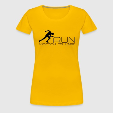 Running man - Women's Premium T-Shirt