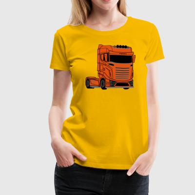 Super V8 Truck - Women's Premium T-Shirt