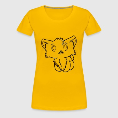 cute kitty - Women's Premium T-Shirt