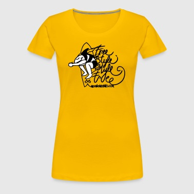 Free Style Style Free 2 Color - Women's Premium T-Shirt