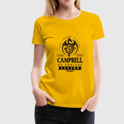 CAMPBELL - Women's Premium T-Shirt