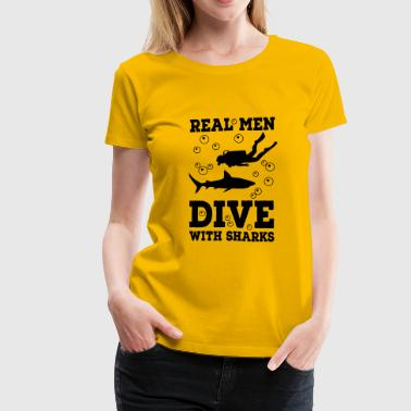 scuba diving - Women's Premium T-Shirt