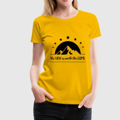 view - Women's Premium T-Shirt