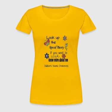 Spoon Theory for Adrenal Insufficiency - Women's Premium T-Shirt