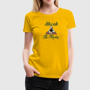 Shocking the Monkey - Women's Premium T-Shirt