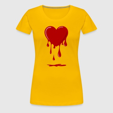 bleeding heart - Women's Premium T-Shirt