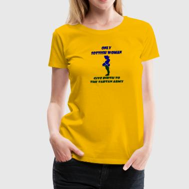 scottish woman - Women's Premium T-Shirt