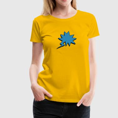speech bubble - Women's Premium T-Shirt