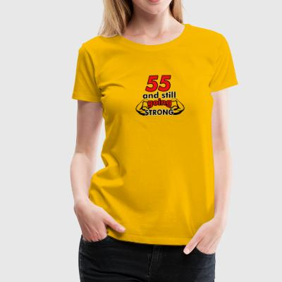 55th birthday design - Women's Premium T-Shirt