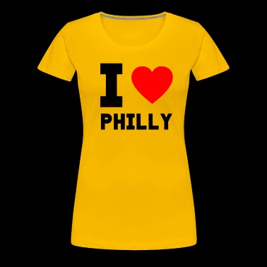 I love Philly gift present city special offer - Women's Premium T-Shirt