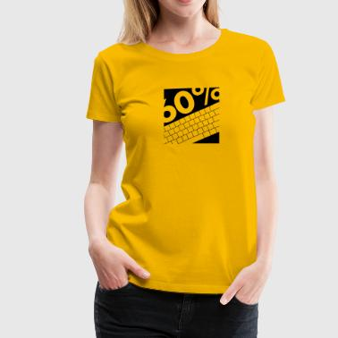 60PercentSquare - Women's Premium T-Shirt
