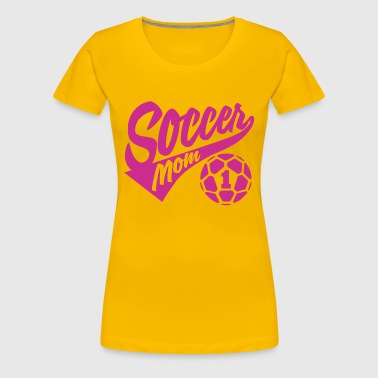 Soccer Mom number 1 - Women's Premium T-Shirt