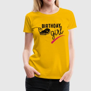 birthday girl - Women's Premium T-Shirt