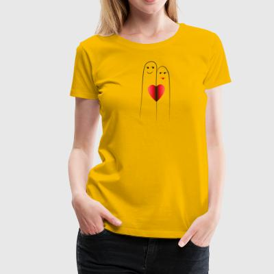 Lovers' Fingers - Women's Premium T-Shirt