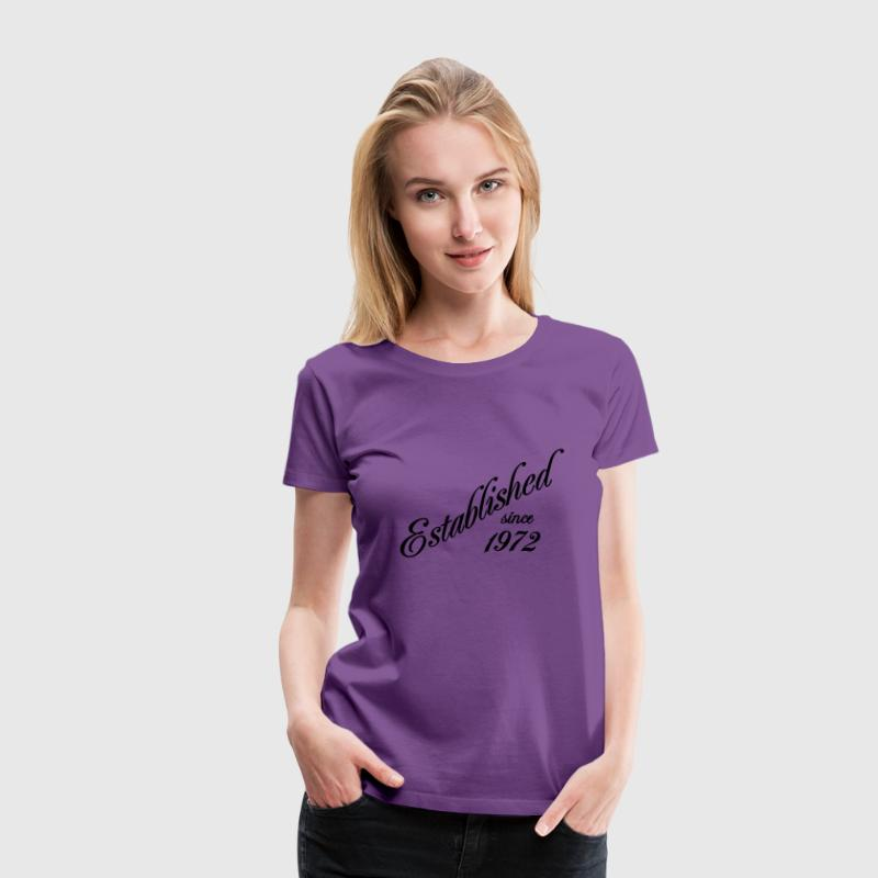 Established since 1972 - Women's Premium T-Shirt
