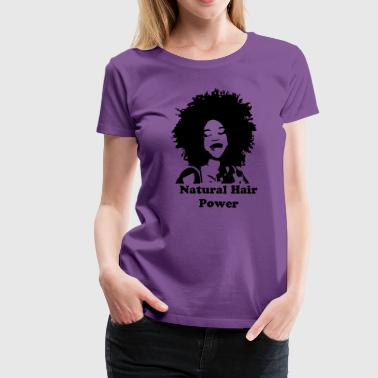 Natural Hair Power - Women's Premium T-Shirt