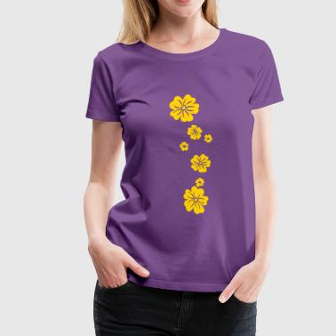 Creeper with Flowers - Women's Premium T-Shirt
