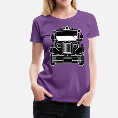 Filipino Jeepney by AiReal Apparel - Women's Premium T-Shirt