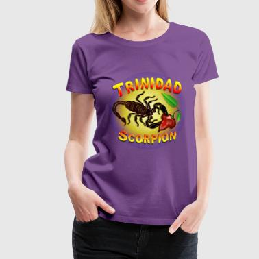 Trinidad Scorpion Black - Women's Premium T-Shirt