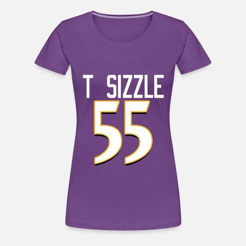 2e5f1377d t sizzle terrell suggs Women s Premium T-Shirt