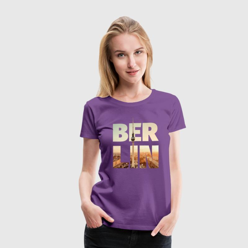 BERLIN CITY – Typo - Women's Premium T-Shirt