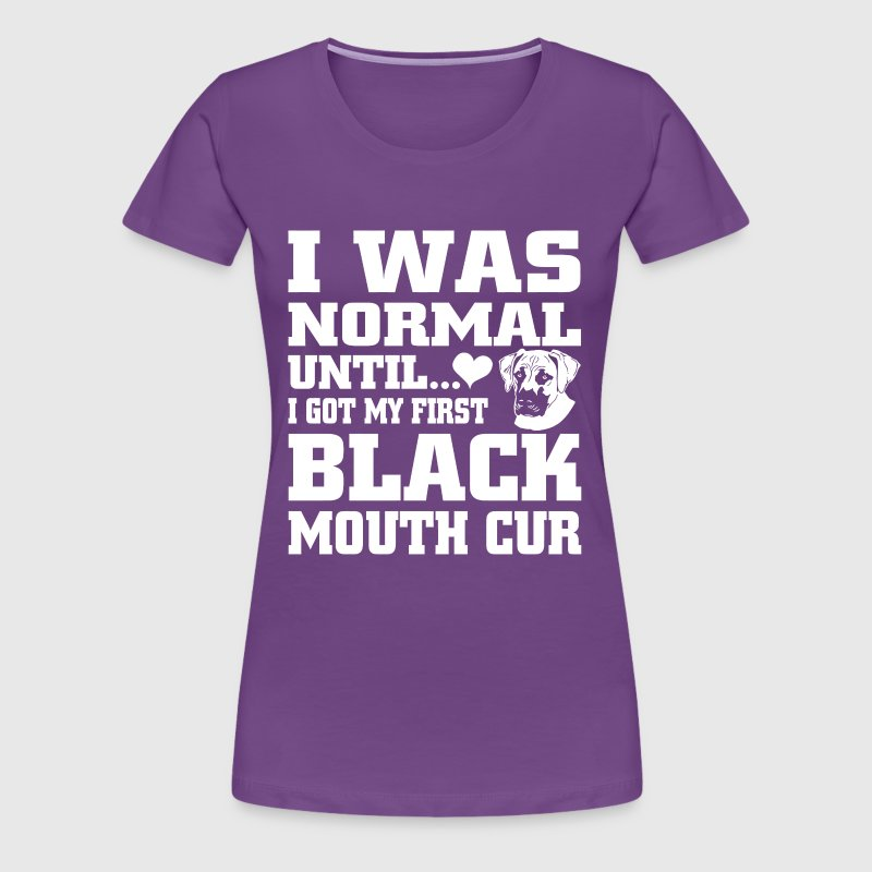 Black Mouth Cur - Women's Premium T-Shirt