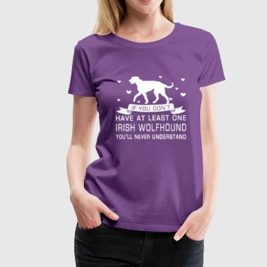Irish Wolfhound - Women's Premium T-Shirt