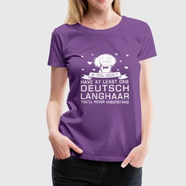 Deutsch Langhaar - Women's Premium T-Shirt