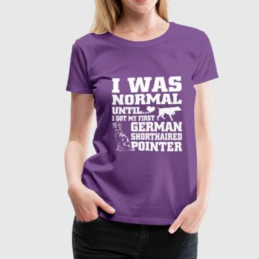 Shorthaired German Shorthaired Pointer - Women's Premium T-Shirt