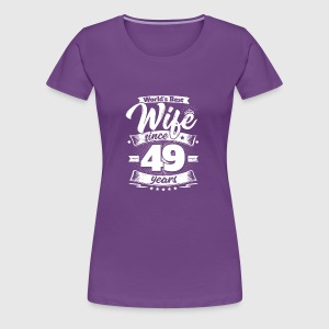 wedding day 49th anniversary gift wife spouse by easyteezy spreadshirt