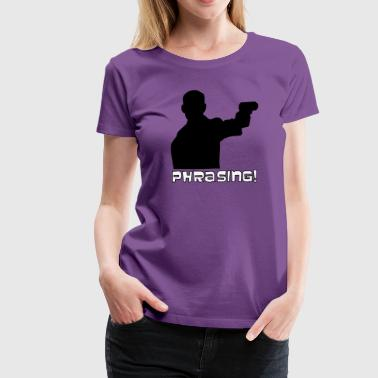 Sterling Archer - Phrasing - Women's Premium T-Shirt