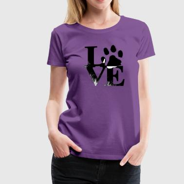 Love Dog - Women's Premium T-Shirt