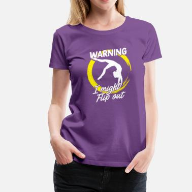 Cheerleader Acrobatics Gymnastics Gymnast Gymnasts Acrobatics Cheerleader - Women's Premium T-Shirt