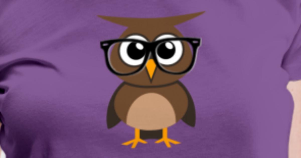 owl avatar with glasses by antichat spreadshirt