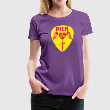 PICK JESUS - Women's Premium T-Shirt
