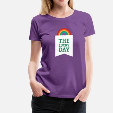 Pennant Lucky You - Rainbow Pennant - Women's Premium T-Shirt