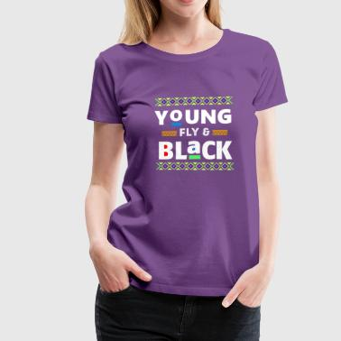 Black-and-proud Black And Proud - Women's Premium T-Shirt