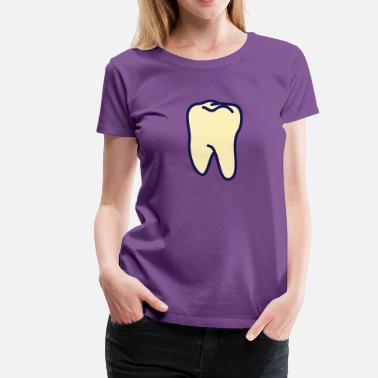 Teeth Tooth teeth - tooth - Women's Premium T-Shirt