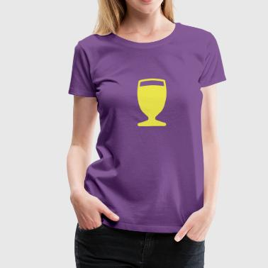 pastis aperitif glass 512 - Women's Premium T-Shirt