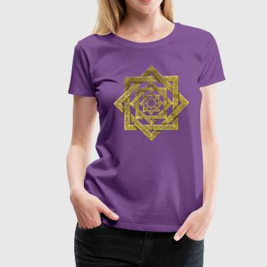 Star of Lakshmi -Ashthalakshmi  - Women's Premium T-Shirt