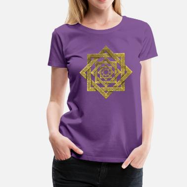 Lakshmi Star of Lakshmi -Ashthalakshmi  - Women's Premium T-Shirt
