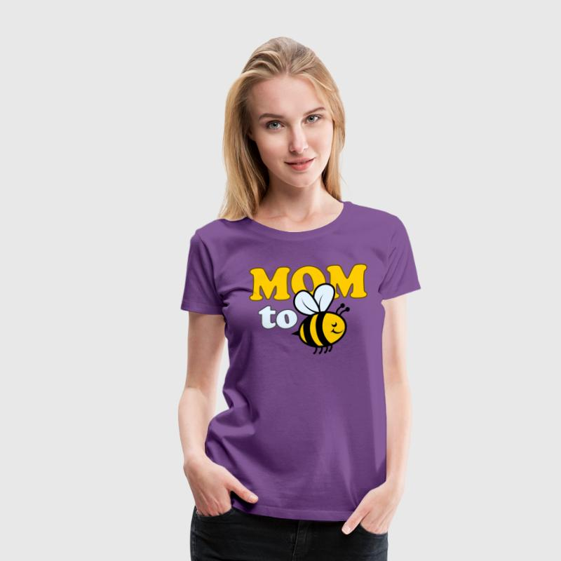mom-to-bee - Women's Premium T-Shirt