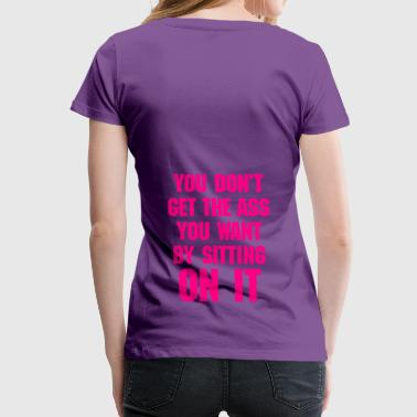 Workout Quote #2 - Women's Premium T-Shirt