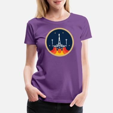 X Wing The X Wing Fighter - Women's Premium T-Shirt
