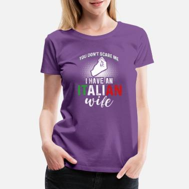 Italian Restaurant Wife Tee Women S Premium T Shirt