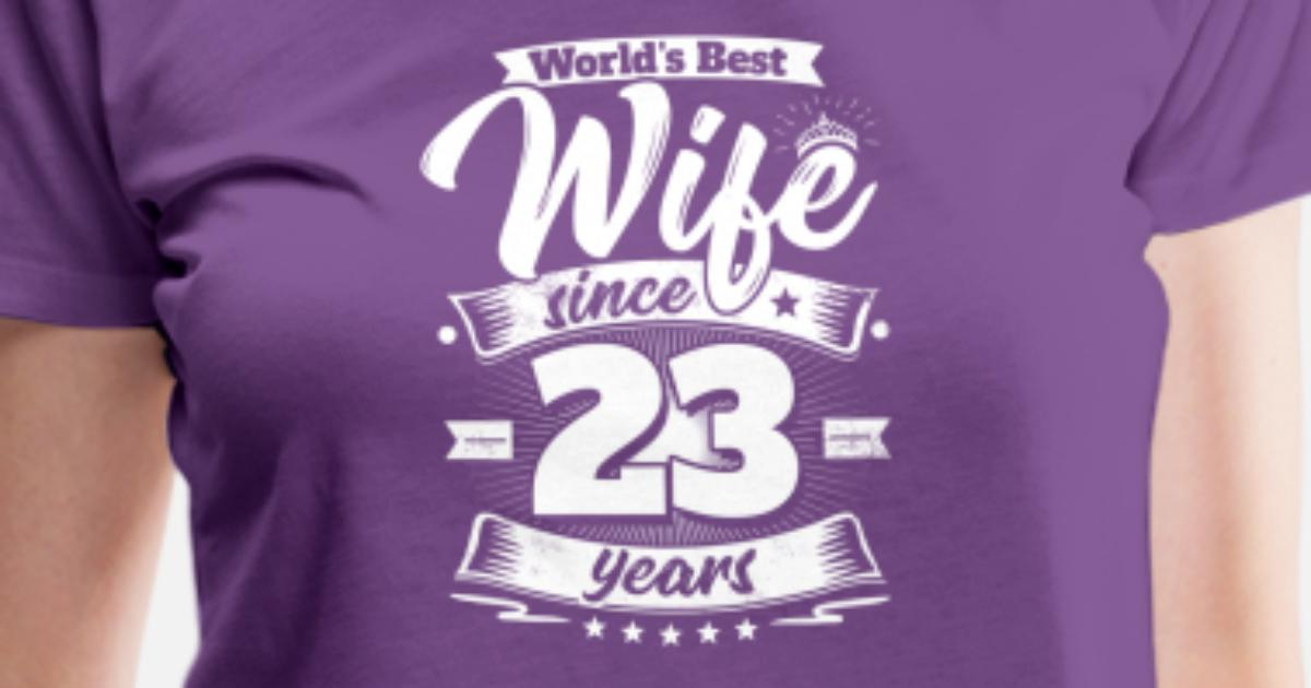 23rd Wedding Anniversary Gift Ideas: Wedding Day 23rd Anniversary Gift Wife Spouse Women's