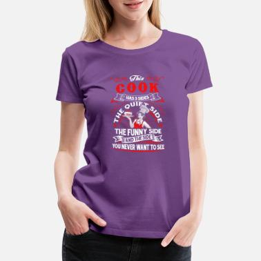 3 Sides 3 side this_cook - Women's Premium T-Shirt