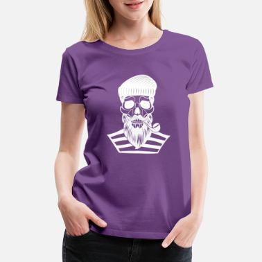 Old Skull Skull Of Old - Women's Premium T-Shirt