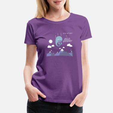 Galaxy Hitchhiker hitchhikers guide to the galaxy magrathea - Women's Premium T-Shirt