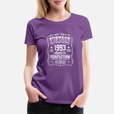 1993 Aged To Perfection Vintage 1993 Aged to Perfection - Women's Premium T-Shirt